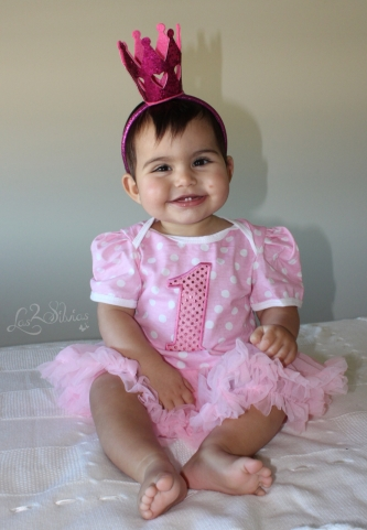 Baby Silvia 1año