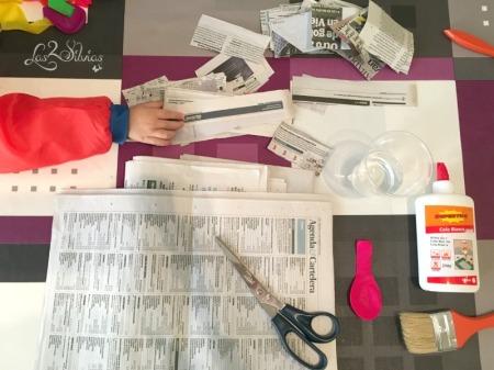 DIY Ninot Fallero MATERIALES