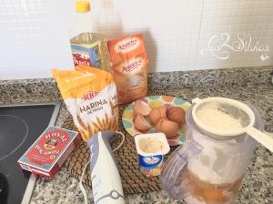 Ingredientes bizcocho