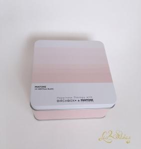 Caja metálica Pantone - Rose Quartz