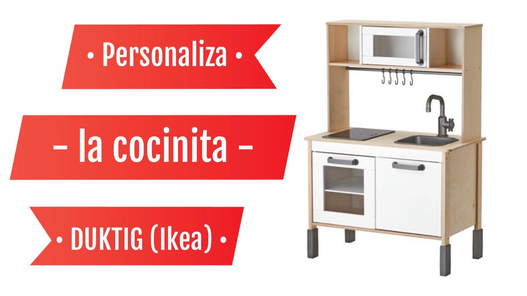 Personaliza La Cocinita Duktig Ikea