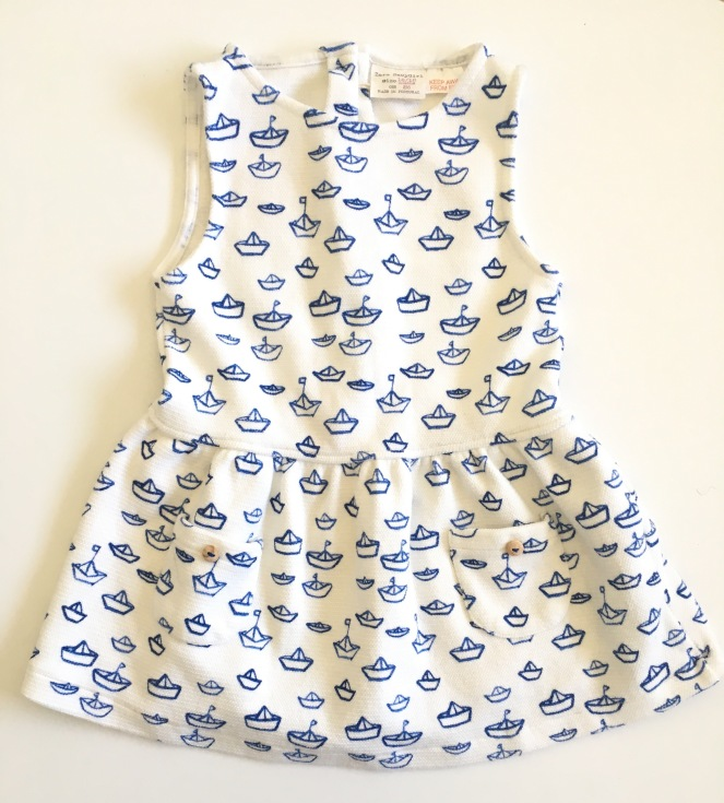 Vestido Barcos (12,95€)